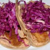 Trout Tacos with Zesty Slaw