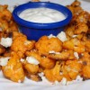 Beer Battered Buffalo Cauliflower