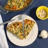 Butternut Squash and Smoked Gouda Pie with Almond Crust