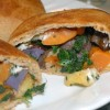 Roasted Root Vegetable Pockets with Goat Cheese