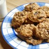 Cherry Almond Oatmeal Cookies