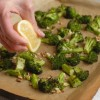 Garlic Lemon Roasted Broccoli