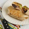 Guacamole Black Bean Burritos