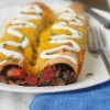 Black Bean Beet Enchiladas