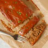 Vegetarian Lentil Loaf with Tomato Glaze