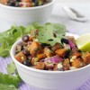 Sweet Potato Black Bean Cilantro Salad