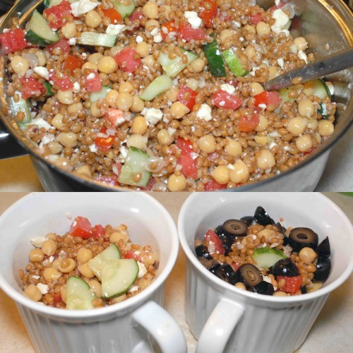 Greek Wheatberry Salad