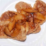 Oatmeal Pancakes with Peaches and Ginger - Alison's Allspice
