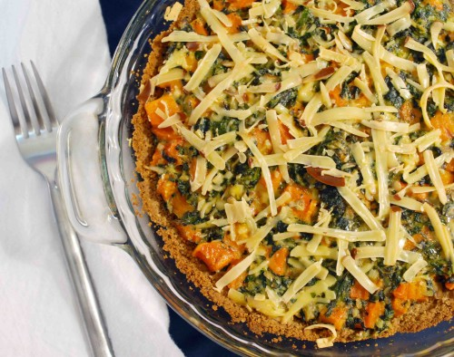 Butternut Squash and Smoked Gouda Pie with Almond Crust - Alison's ...