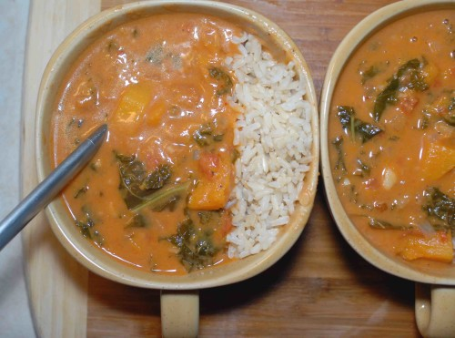 Peanut Stew with Rice