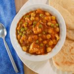 Tomato Coconut Curry with Cauliflower and Chickpeas