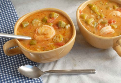 Louisiana Style Shrimp Gumbo with Okra