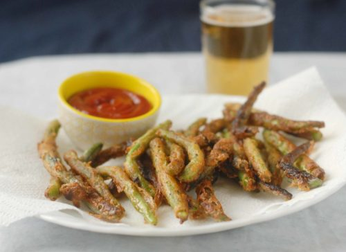 Beer Battered String Bean Fries