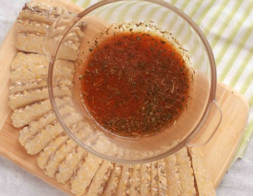 Tempeh with Marinade