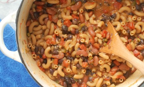 one-pot-vegetarian-chili-mac