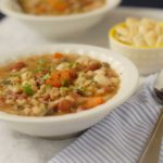 Bean Barley and Mushroom Stew