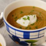 Spiced Pumpkin Lentil Soup