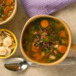 Wild Rice and Vegetable Soup