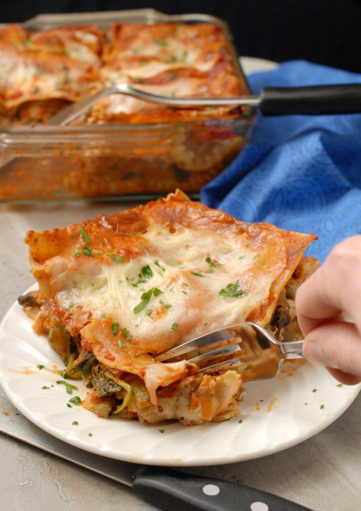 Small Batch Veggie Lasagna By Alison's Allspice