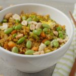 Turmeric Fried Rice with Edamame