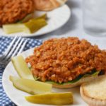 Lentil Cauliflower Vegan Sloppy Joes