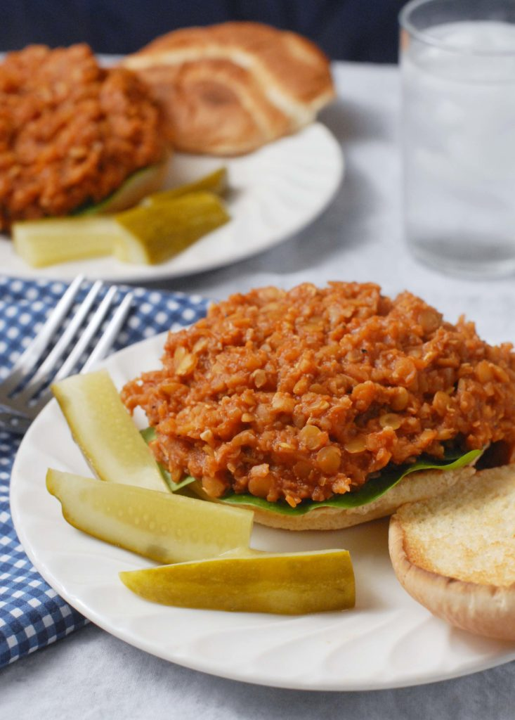 Lentil Cauliflower Vegan Sloppy Joes by Alison's Allspice
