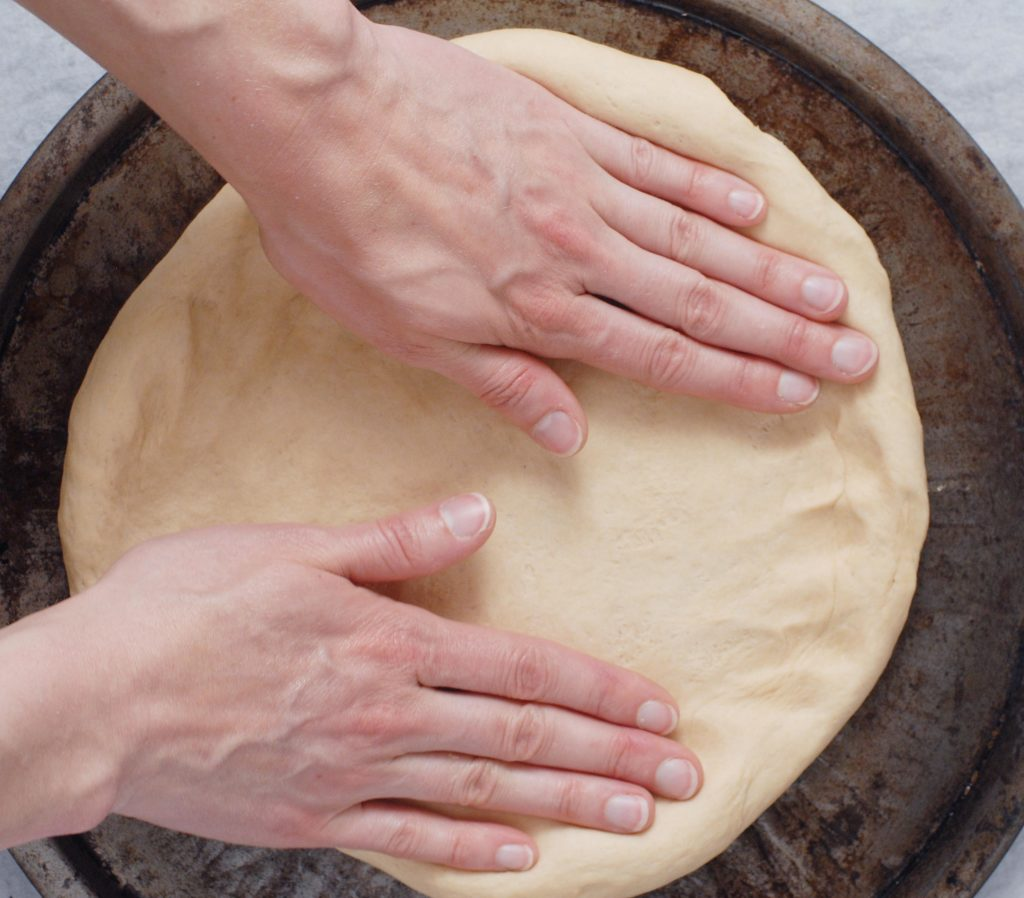 Quick Homemade Whole Wheat Pizza Dough by Alison's Allspice