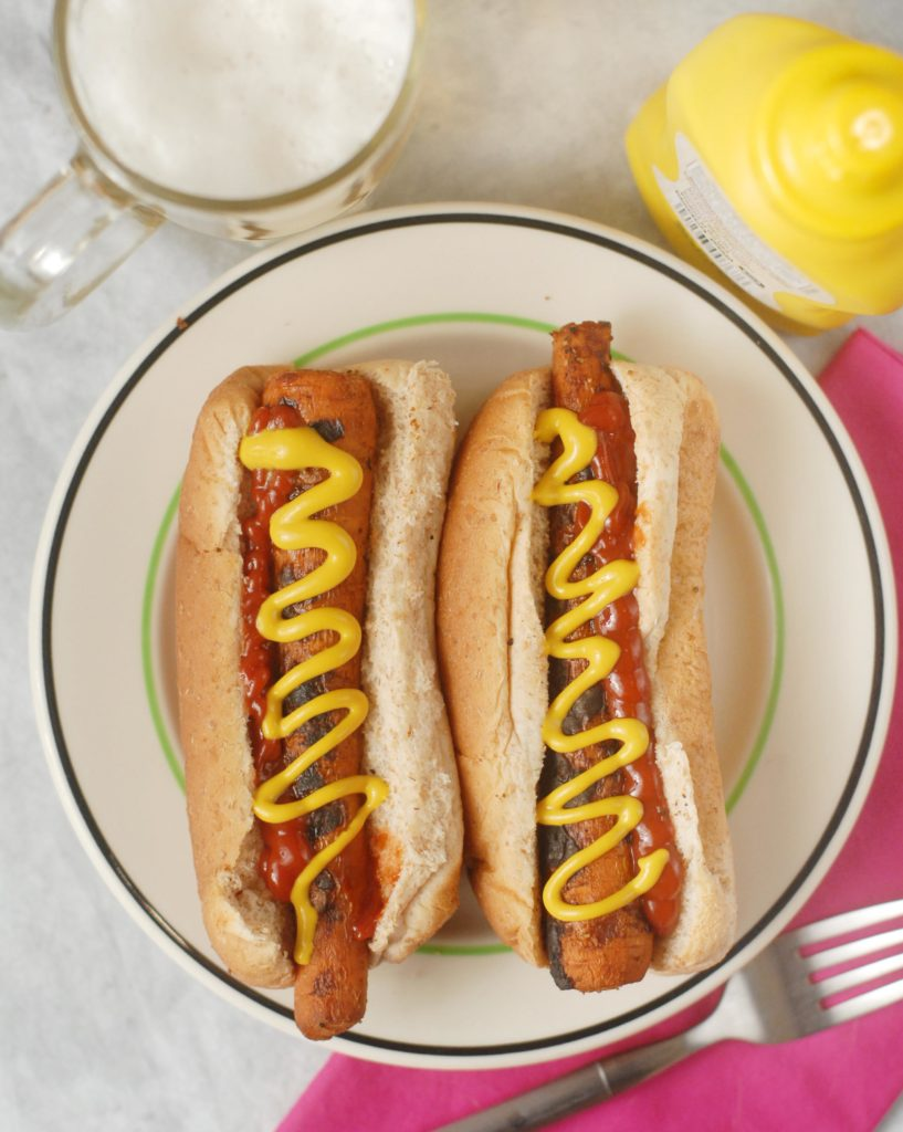 Vegan Grilled Carrot Dogs by Alison's Allspice