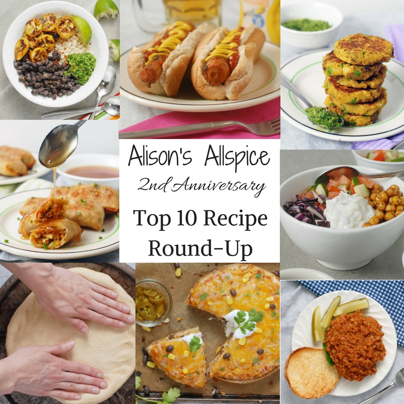 Top 10 Alison's Allspice Recipes for my 2 year anniversary