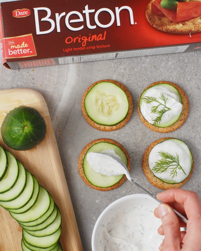#ad Tzatziki Cucumber Dill Crackers by Alison's Allspice