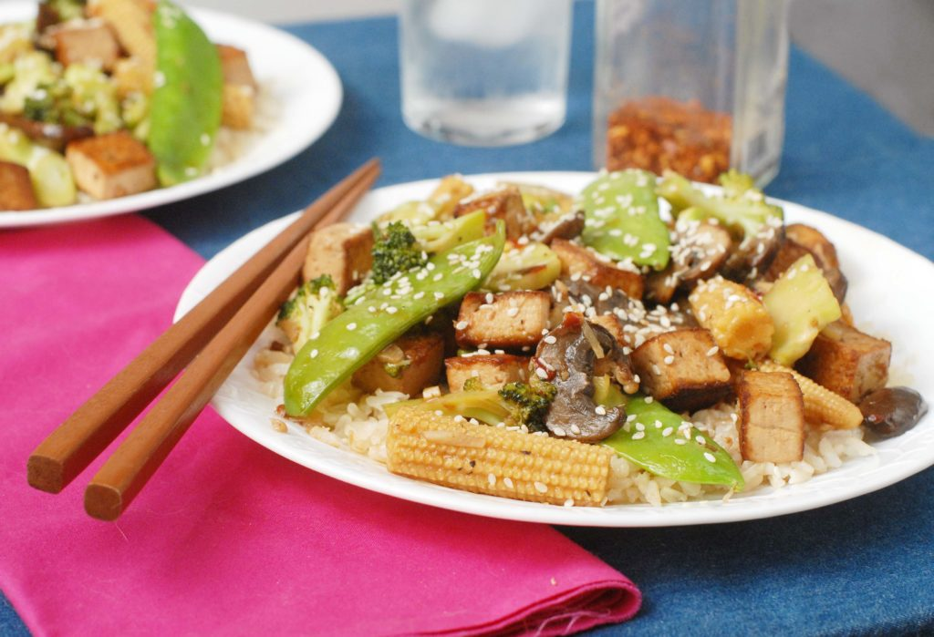 Variations to the Early Summer Vegetable Stir Fry with Crispy Tofu ...