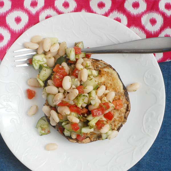 Grilled Clam Stuffed Mushrooms with Tomato Relish - Alison ...
