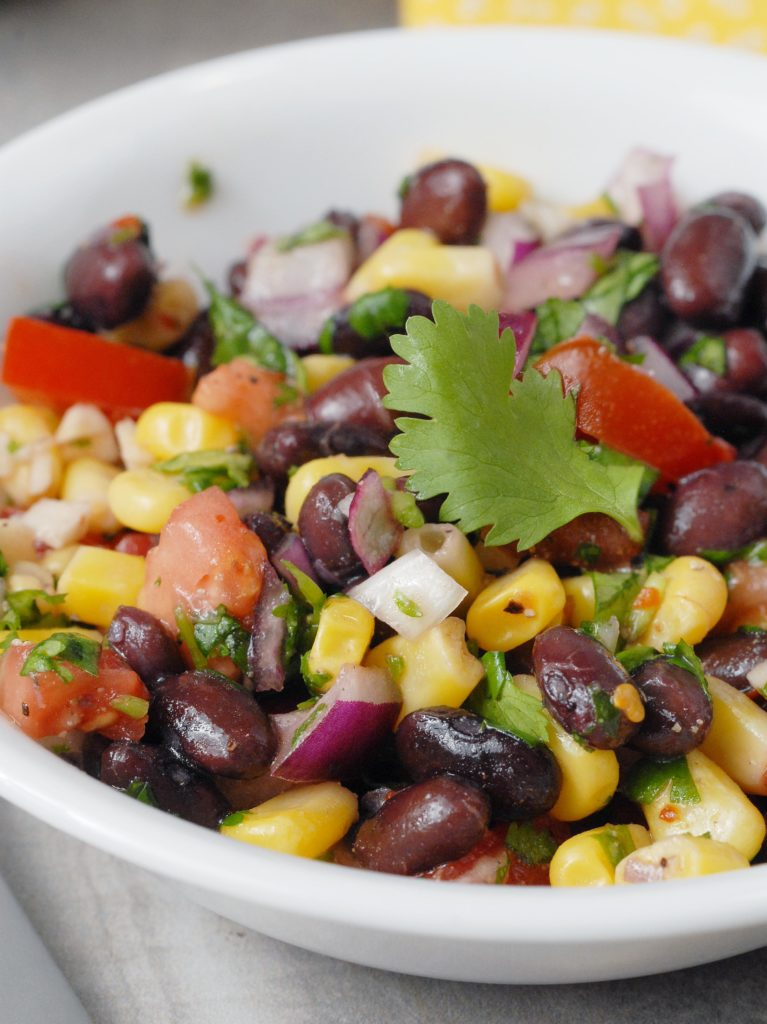 Cilantro Lime Southwest Black Bean Salad by Alison's Allspice
