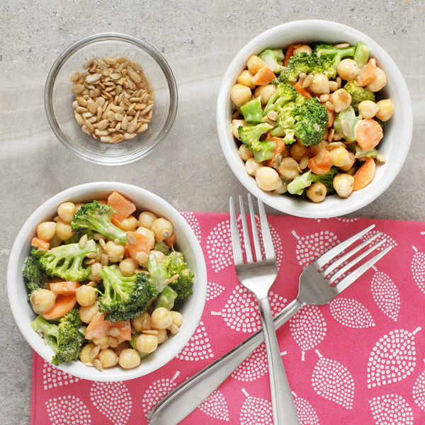 Broccoli Salad with Creamy Lemon Caper Dressing by Alison's Allspice