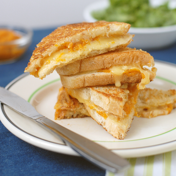 Gouda Grilled Cheese with Apricot Ginger Spread by Alison's Allspice