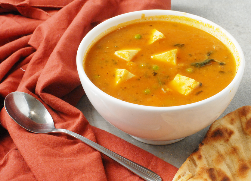 Slow Cooker Sweet Potato Paneer Curry by Alison's Allspice
