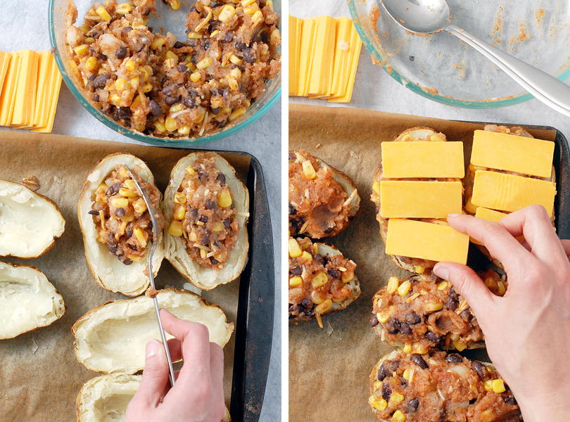 Southwest Twice Baked Potatoes by Alison's Allspice