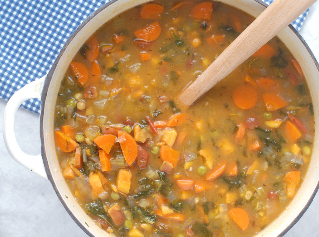Best Ever Homemade Vegetable Soup by Alison's Allspice