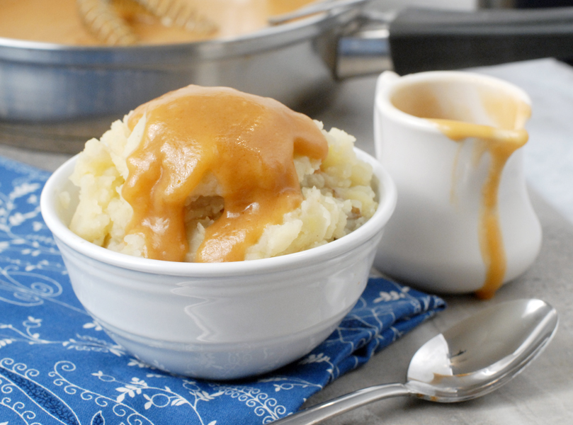 Five Minute Four Ingredient Homemade Gravy by Alison's Allspice