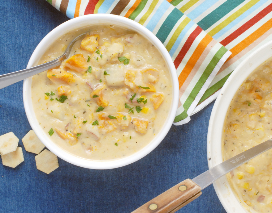 Roasted Butternut Squash Chowder by Alison's Allspice